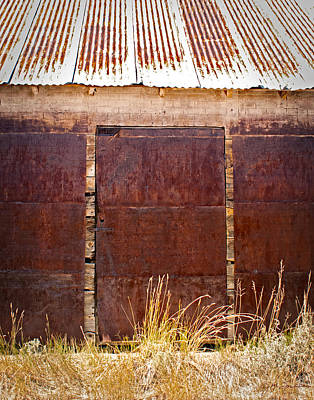 Photograph - Barn Door Picture by Julie Magers Soulen