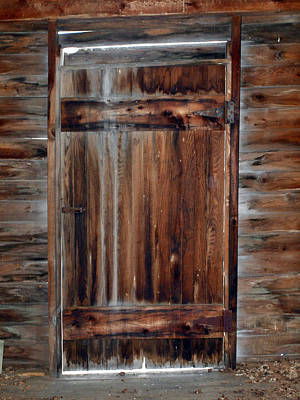 Photograph - Barn Door by Robert Margetts