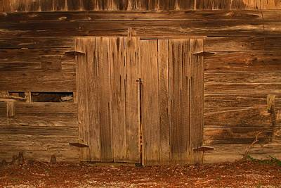 Photograph - Barn Door by Ronald Olivier