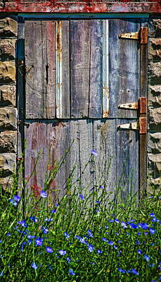 Photograph - Barn Door by Virginia Folkman