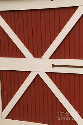 Photograph - Barn Door by William Norton