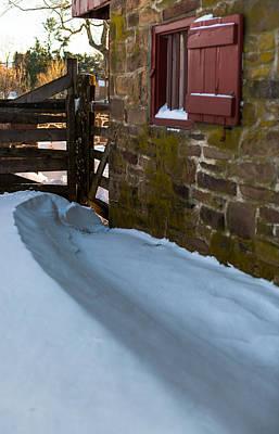 Snow Drifts Photograph - Barn Drift by Scott Hafer
