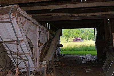 Photograph - Barn From A Barn by Alan Lenk