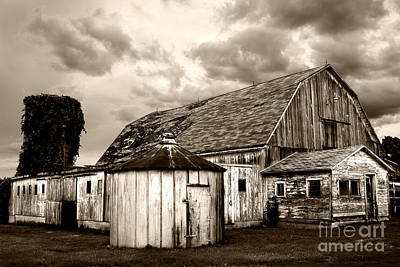 Photograph - Barn Highway 66  by Michael Arend