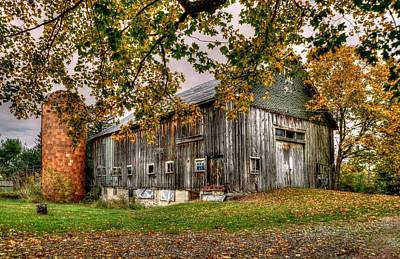 Photograph - Barn House by Craig Incardone