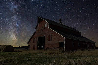 Photograph - Barn II by Aaron J Groen
