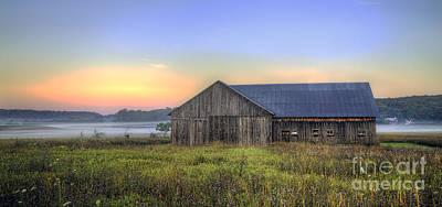 Michigan Farmhouse Photograph - Barn In Northern Michigan by Twenty Two North Photography