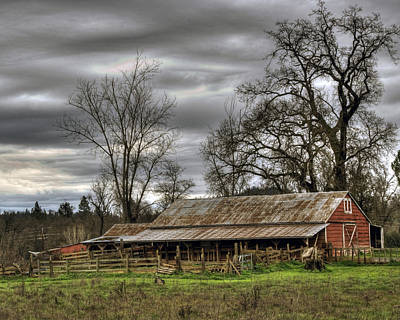 Photograph - Barn In Penn Valley by William Havle