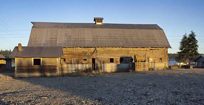 Barn In Rural Washington Art Print