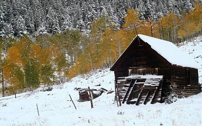 Nature Photograph - Barn In The San Juan Mountains by Jetson Nguyen