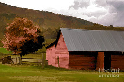 Photograph - Barn In Vermont by Kathleen Gauthier