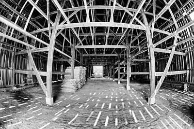 Barn Inside Art Print by Alexey Stiop