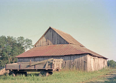 Photograph - Barn by John Mathews