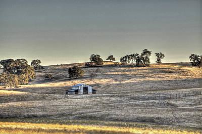 Photograph - Barn Latrobe Road by SC Heffner