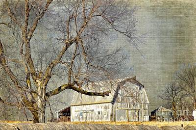 Photograph - Barn - Missouri's Backroads by Liane Wright
