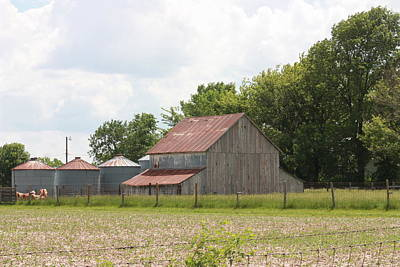 Photograph - Barn Near Centralia by Kathy Cornett