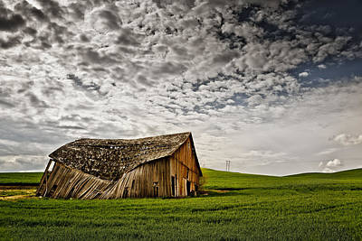 Photograph - Barn No.2 by Niels Nielsen