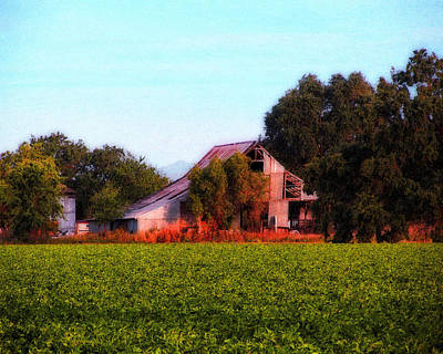 Photograph - Barn On Covell Road 3 by Timothy Bulone
