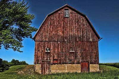 Barn On Kennedy Road Webster Ny Art Print