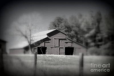 Photograph - Barn On The Hill by Cynthia Mask