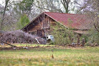 Photograph - Barn Out Back by Gordon Elwell
