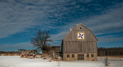 Photograph - Barn Quilt by Patti Raine