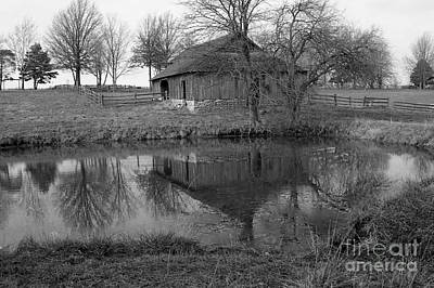 Photograph - Barn Reflection by Crystal Nederman