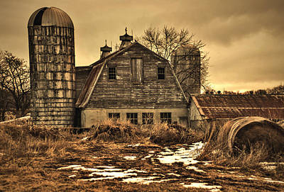 Photograph - Barn by Robert Geary