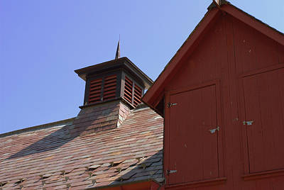 Barn Roof Art Print