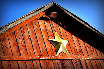 Barn Star Art Print by Cricket Hackmann