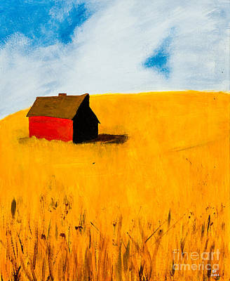 Barn Art Print by Stefanie Forck