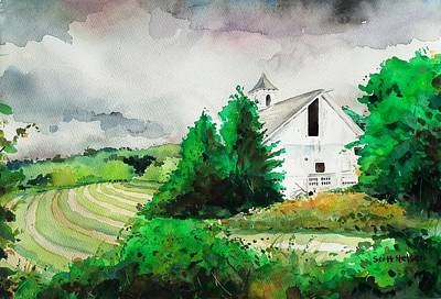 Barn Storm Original by Scott Nelson