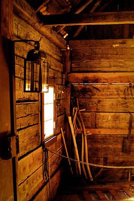 Photograph - Barn Tools by David Patterson