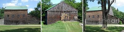 Photograph - Barn Triptych by Kerri Mortenson