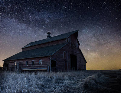 Photograph - Barn V by Aaron J Groen