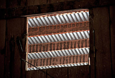 Photograph - Barn Vents by Doug Davidson