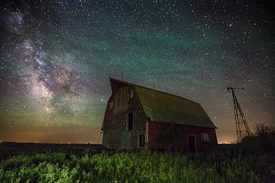 Photograph - Barn Viii by Aaron J Groen