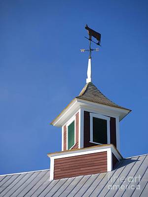 Barn Weathervane Art Print
