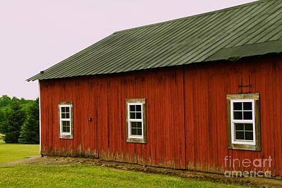 Photograph - Barn by William Norton