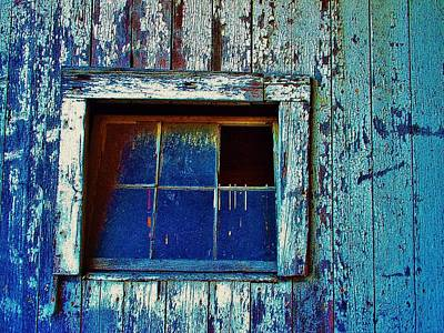 Barn Window 1 Art Print