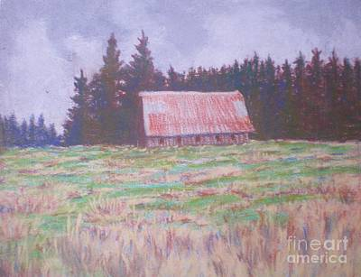 Painting - Barn With A Rusty Roof by Suzanne McKay