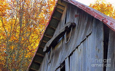 Photograph - Barn Yoke by Cynthia  Clark