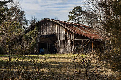 Photograph - Barn2 by Barry Cole