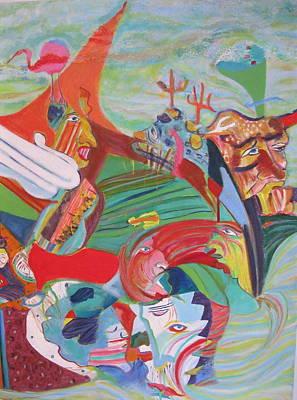 Barnacles Original by Else Tamayo
