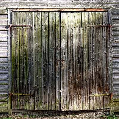 Barndoors  Art Print by Olivier Le Queinec