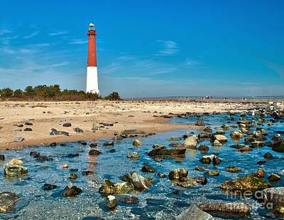 Photograph - Barnegat From The Beach by Nick Zelinsky