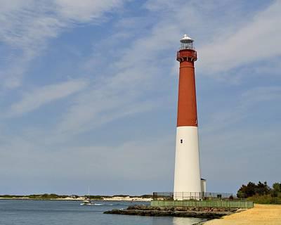 Photograph - Barnegat Lighthouse - Jersey Shore by Angie Tirado