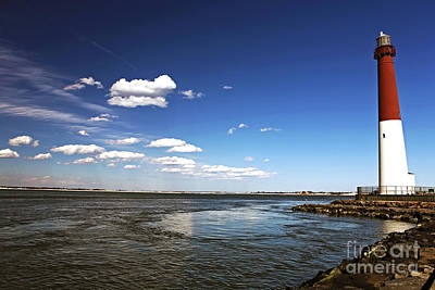Nj Photograph - Barnegat Lighthouse by John Rizzuto