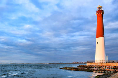 Barnegat Lighthouse Art Print by Olivier Le Queinec