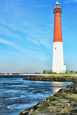 Barnegat Lighthouse Art Print by Paul Ward
